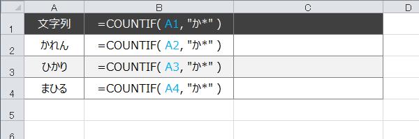 エクセル:「IF」関数でもワイルドカードを使いたい