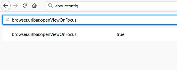 Firefox: アドレスバーの「拡大」と「よく見るサイト」の表示をやめる方法