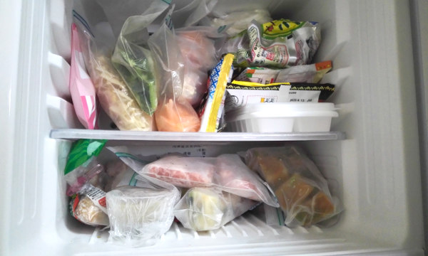 冷凍室が足りないから、「冷凍庫」だけを買い足してみた