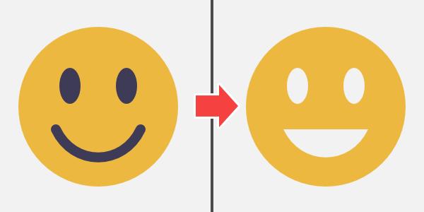 Affinity Designer: ペンで描いたカーブを合成(複合化)する方法