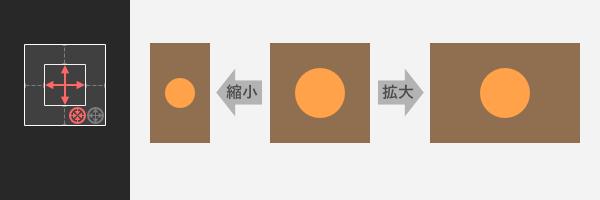 Affinity Designer: 拡縮時のレイヤーの挙動を指定する「制約」の使い方