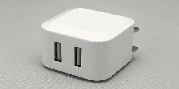 iPhone: ダイソーの電源アダプターが予想以上に良かった件