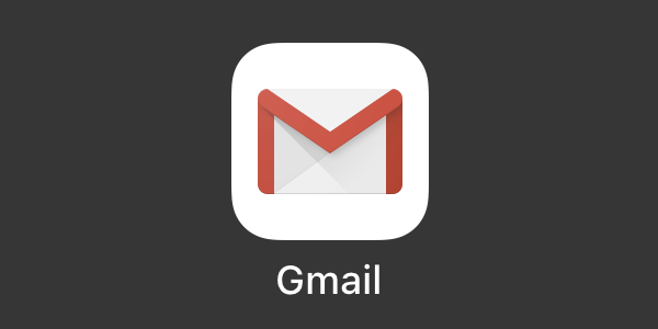 iPhone アプリ Gmail