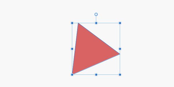 選択ボックスの角度がリセット