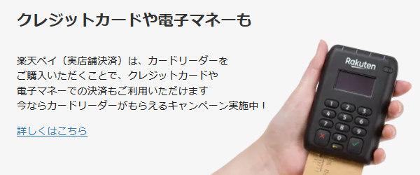 楽天Payの公式サイト