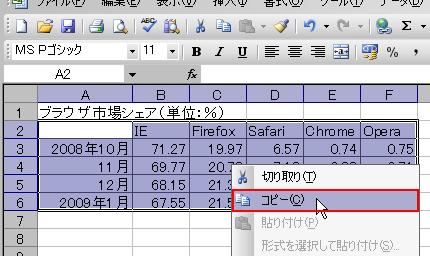 エクセルシートをHTMLテーブルに変換しちゃう君 操作画面