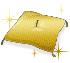 金色の座布団